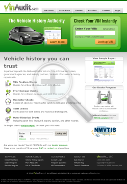 Vinaudit - Vehicle History Reports - Carfax Alternative preview. Click for more details