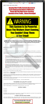 Viral Traffic Empire Formula - Pretty Powerful Stuff! preview. Click for more details
