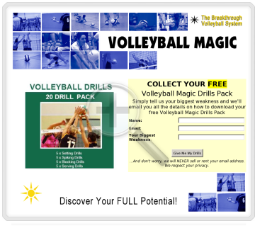 Volleyball Magic preview. Click for more details
