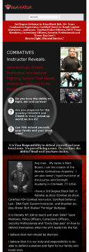 Warrior Combatives Academy Fighting Course preview. Click for more details