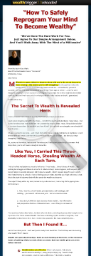 Wealth Trigger Is Back! preview. Click for more details