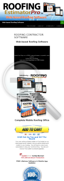 Web-based Roofing Software - Mobile Apps Included preview. Click for more details