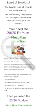 Weight Loss Meal Plan Collection preview. Click for more details
