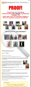Weight Loss Transformation - Audio Coaching Program!!! preview. Click for more details