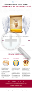 Who Is Your Guardian Angel? Myers-briggs Personality Test preview. Click for more details
