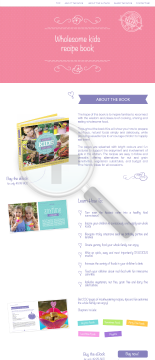 Wholesome Kids Recipe Book - Kira Westwick preview. Click for more details