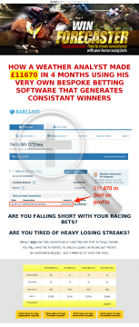 Win Forecaster preview. Click for more details