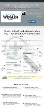 Wishlist Member - Membership Site Software preview. Click for more details