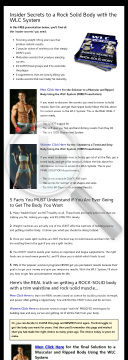 Wlc System: Muscle Building And Fat Loss System preview. Click for more details