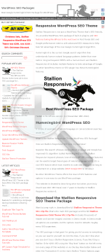 Wordpress SEO Package preview. Click for more details