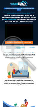 Work From Home Secrets preview. Click for more details