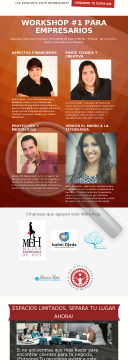 Workshop Empresarial preview. Click for more details