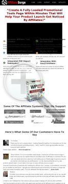 Wp Affiliate Surge WordPress Plugin preview. Click for more details