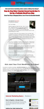 Wp Blog Videos - Step-by-step Blogging Tutorials preview. Click for more details