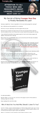 Younger Next Day By Dr. Kong: Anti-aging E-book By Real Doctor! preview. Click for more details