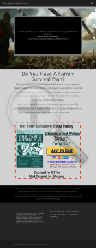 Your Family Survival Plan preview. Click for more details