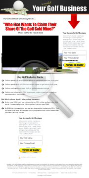 Your Successful Online Golf Business preview. Click for more details