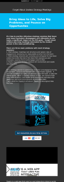 Zapaty - The Idea Machine preview. Click for more details