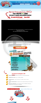 Zoowhiz Online Learning System - 50% Recurring Commision preview. Click for more details